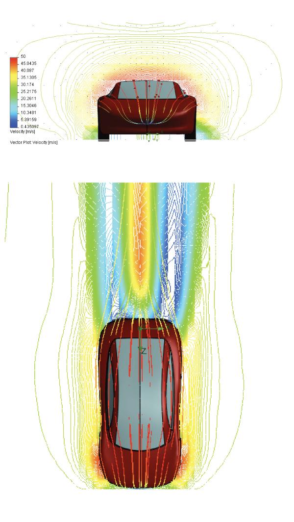 Symulacja prędkości wiatru (m/s)