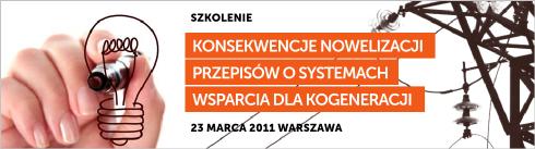 Konsekwencje nowelizacji przepisów o systemach wsparcia dla kogeneracji