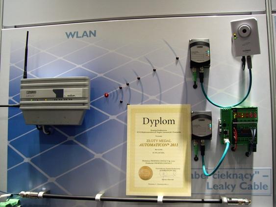 Przemysłowy adapter sieci WLAN dla urządzeń automatyki