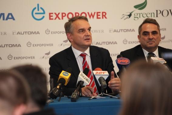 Wicepremier Waldemar Pawlak na ExpoPower 2010
