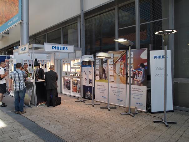 Stoisko firmy Philips