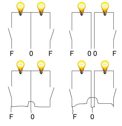 Wlacznik Na Dwa Klawisze Podłaczenie Dwoch Lamp