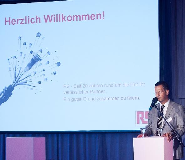 Klaus Göldenbot, Regional General Manager, RS Components EMEA