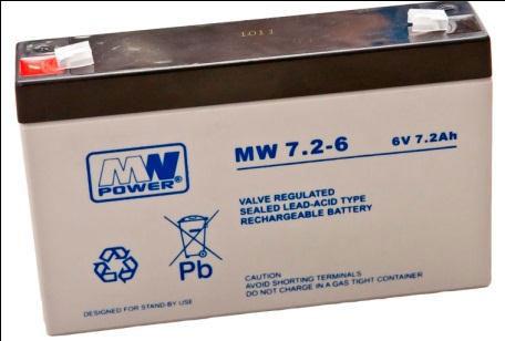Akumulatory MW POWER typ MW, to produkt dedykowany dla odbiorców oczekujących umiarkowanej ceny i dobrej jakości. Wg. klasyfikacji Eurobat akumulatory MW znajdują się w grupie GP (General Purpose) o projektowanej żywotności 6-9 lat (odpowiednio dla temp 20°C i 25°C)
