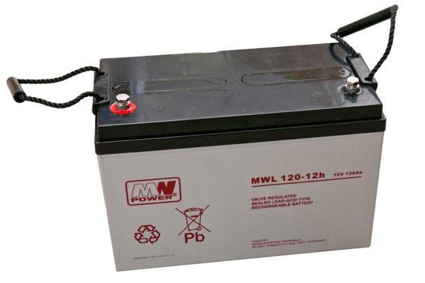 Akumulatory MW POWER typ MWL stworzono z myślą o najbardziej wymagających aplikacjach. Mogą również pracowad cyklicznie. Wg. klasyfikacji Eurobat akumulatory MWL znajdują się w grupie HP (High Performance) o projektowanej żywotności 10-12 lat (odpowiednio dla temp 20°C i 25°C)