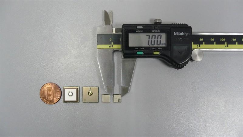 Najmniejszy na świecie moduł GPS ORG4472 ma wymiary 7x7x1,4 mm