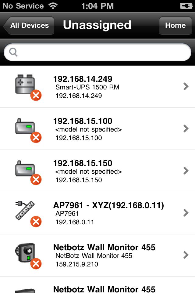 Drugi moduł, StruxureWare Operations: VIZOR, przesyła kluczowe dla centrum danych parametry wydolności i eksploatacji dotyczące systemów zasilania i chłodzenia, a także przestrzeni oraz sieci, bezpośrednio do iPhone'a, iPada lub smartfonu z systemem operacyjnym Android.