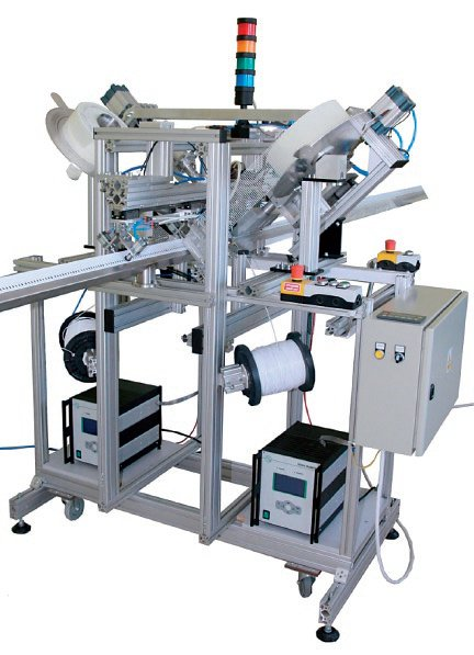 Rys. 2. Przykład systemu zgrzewania ultradźwiękowego
