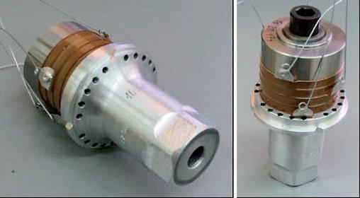 Rys. 5. Przykład przetwornika ultradźwiękowego o mocy 3 kW