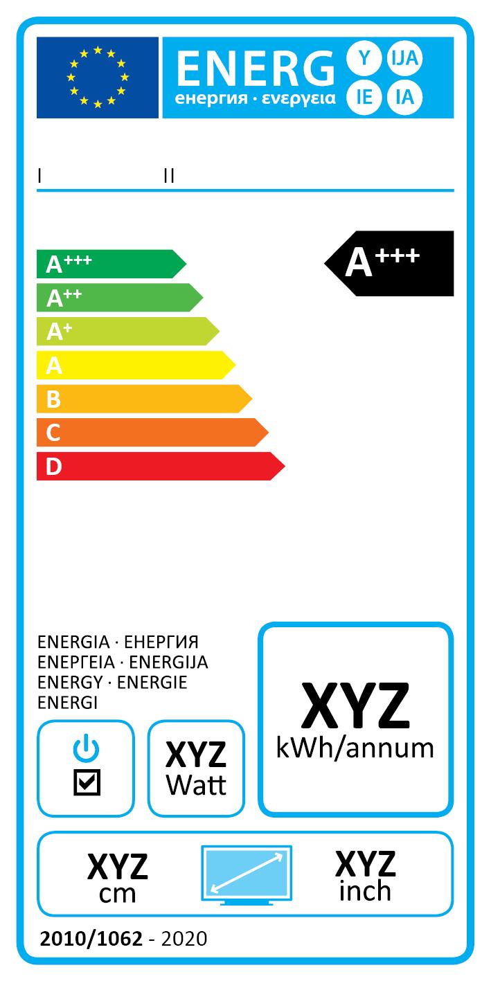 Nowa etykieta energetyczna