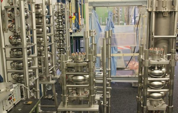Laboratorium testowania wnęk przyspieszających. Fot. Marek Pawłowski, NCBJ