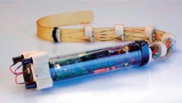 Rys. 12. RoboLamprey – pojazd napędzany elastomerami dielektrycznymi