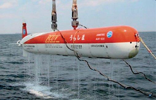 Rys. 9. Jedna z najbardziej nowatorskich konstrukcji w klasie AU V – zasilana ogniwami wodorowymi łódź Urashima