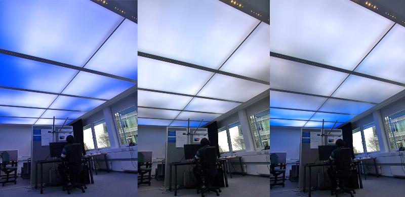 wirtualne niebo LED