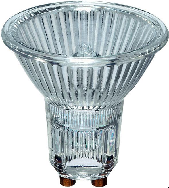Ecohalo Twist - lampa halogenowa w kształcie refl ektora z dichroicznym odbłyśnikiem na napięcie sieciowe (230 V), dająca do 30% oszczędności w porównaniu do tradycyjnych, reflektorowych lamp halogenowych.