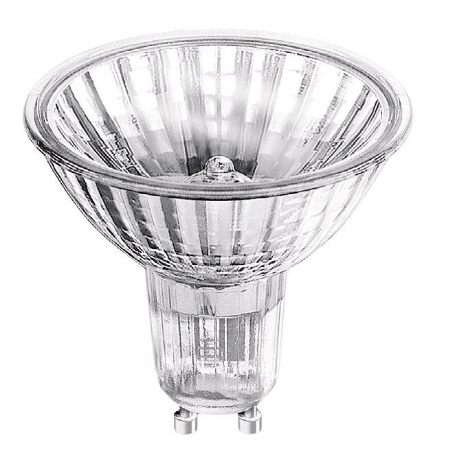 HALOPAR 20 - lampa halogenowa z reflektorem zasilana jest napięciem 230 V.