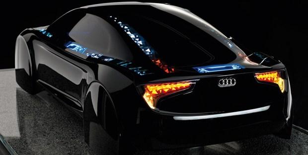 Audi rozwija nową technologię oświetlenia samochodów OLED Visions