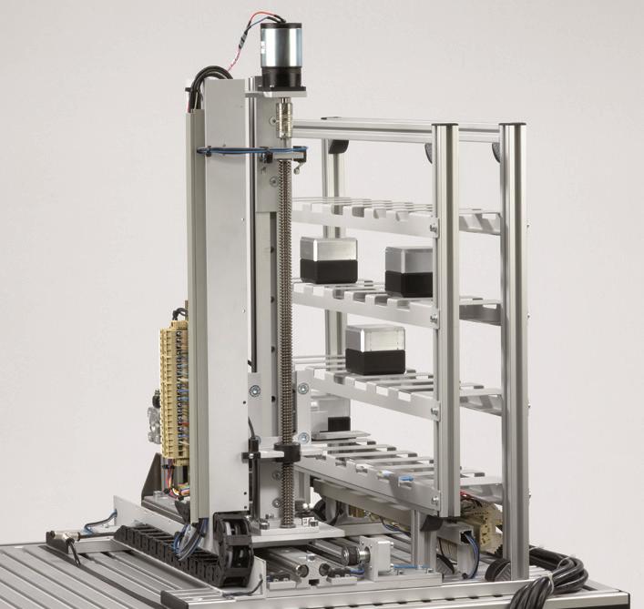 Robot w układzie kartezjańskim