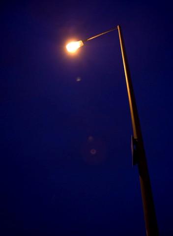 Ulice Słupska W Ciemnościach Po Modernizacji Oświetlenia