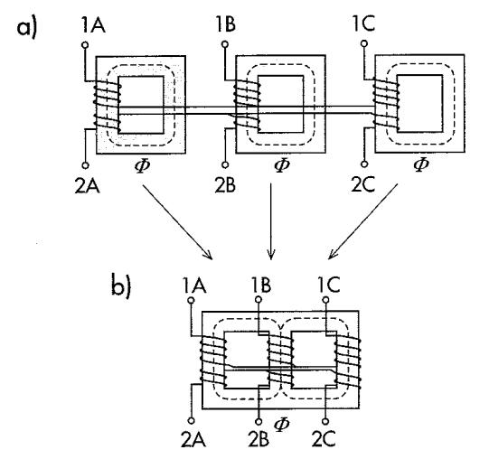 Transformatory trójfazowe