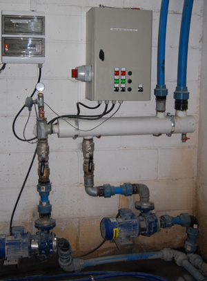 Cześć układu hydraulicznego