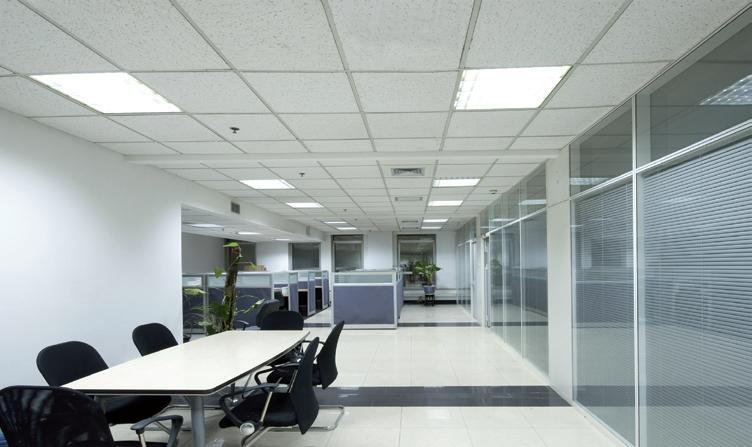 Projekt oświetlenia biura lampami LEDstar T8 - alternatywy świetlówek liniowych typu T8.
