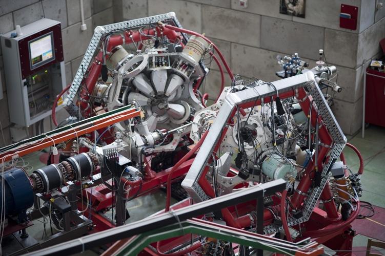 W Środowiskowym Laboratorium Ciężkich Jonów Uniwersytetu Warszawskiego uruchomiono najbardziej zaawansowany polski spektrometr promieniowania gamma. (Źródło: ŚLCJ UW)