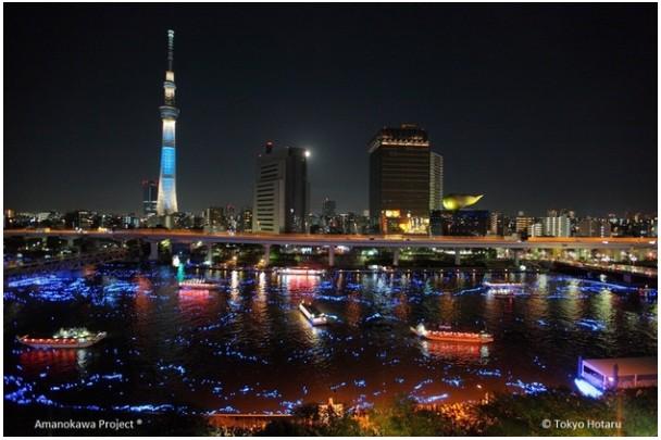 LED-y Panasonic rozświetliły festiwal w Tokio
