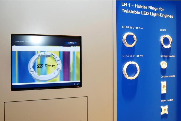 Pierwsze moduły LED w standardzie ZHAGA na targach Light+Building