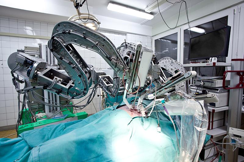 Robot kardiochirurgiczny RobIn Heart MC2