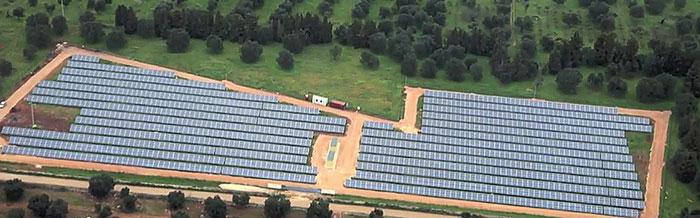 Centralny monitoring i sterowanie grupą elektrowni słonecznych