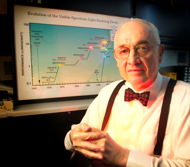 Nick Holonyak - wynalazca diody LED