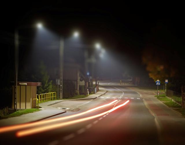 Inteligentne Oszczędzanie W Miastach Led Oświetlenie