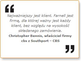 W Farnell najważniejszy jest klient