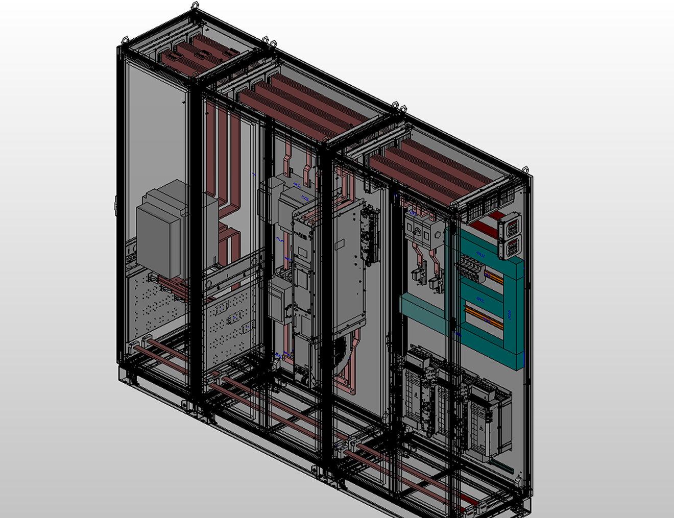 Eplan Pro Panel Copper pozwala na całościowe projektowanie rozdzielni do zasilania i rozdziału prądu.