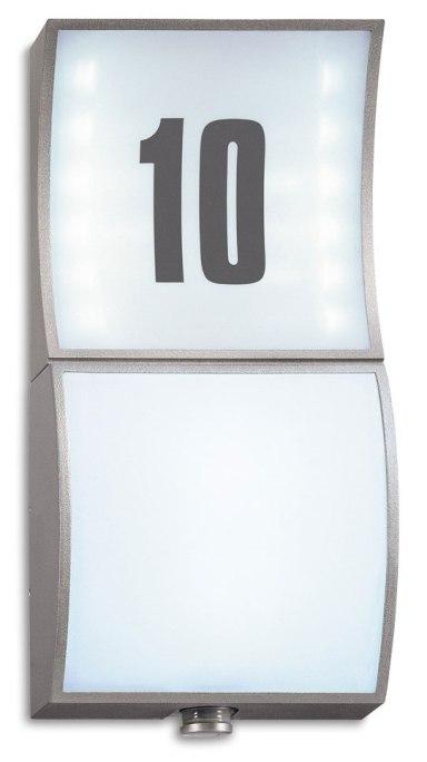 Lampa STEINEL L 675 została wyposażona w wysoce wydajny mikroczujnik ruchu. Możliwość zmiennego podłączenia czujnika powoduje, że lampę można bez problemu zamontować w pionie lub w poziomie.