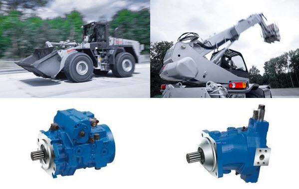 Więcej mocy pomimo zredukowanej siły silnika spalinowego – nowe jednostki wielotłokowe o wysokim ciśnieniu pracy A4VG serii 40 i A6VM serii 71