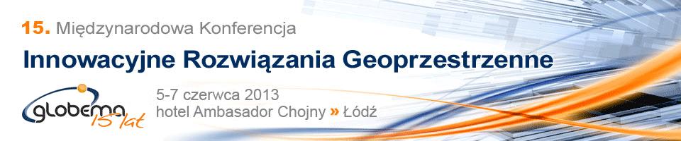"""XV Międzynarodowa Konferencja """"Innowacyjne Rozwiązania Geoprzestrzenne"""""""