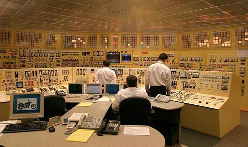 Rys. 6. Sala dyspozycji mocy w elektrowni atmowej Devis-Besse w Oak Harbor w stanie Ohio (USA)
