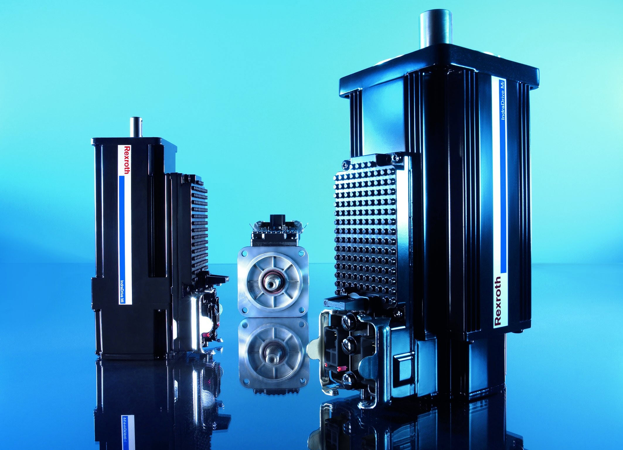 Innowacja w dziedzinie napędów w produkcji seryjnej: IndraDrive Mi