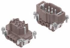 6-pinowe wkłady dla złącz 180ºC