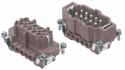 10-pinowe wkłady dla złącz 180ºC