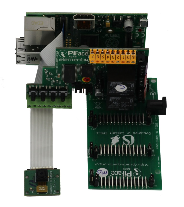 Moduł PiRack dla Raspberry Pi