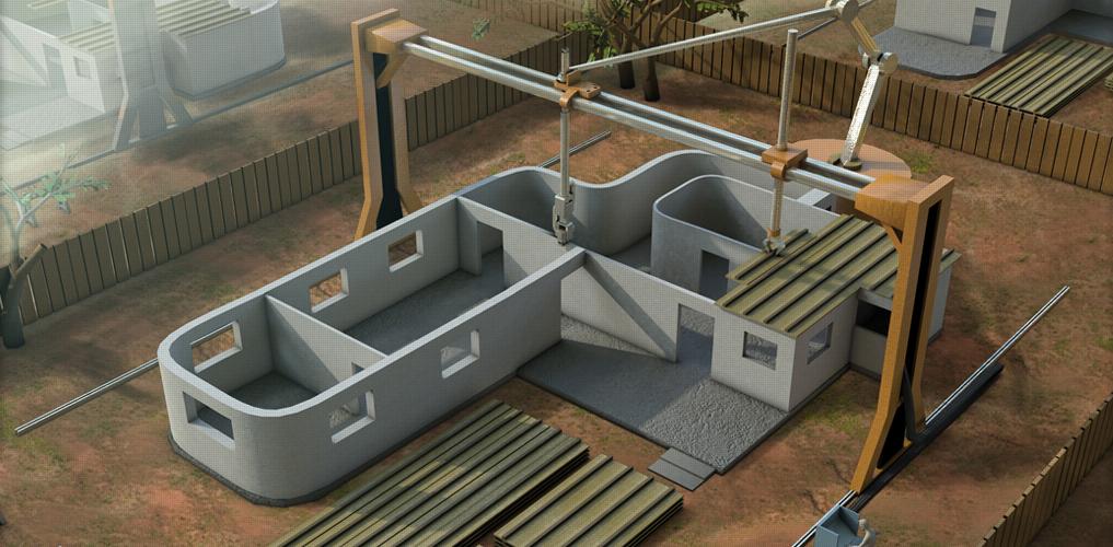 Budowa drukowanego domu