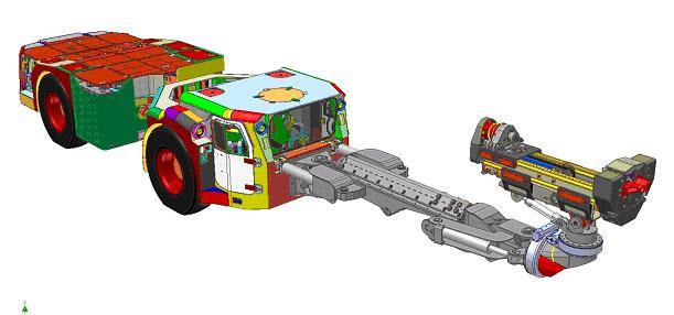 Rys 1. Złożenie modelu 3D