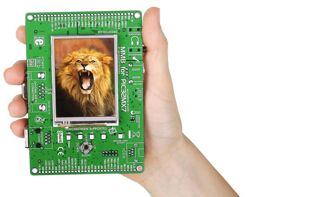 Zestawy uruchomieniowe firmy MikroElektronika dedykowane mikrokontrolerom PIC32