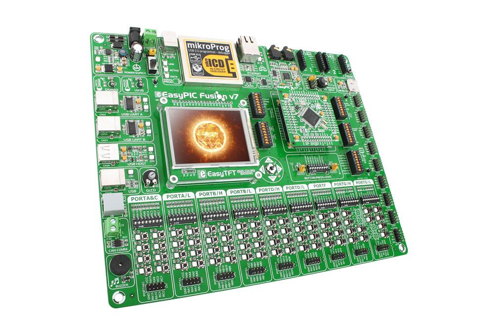 MikroElektronika EasyPic Fusion v7