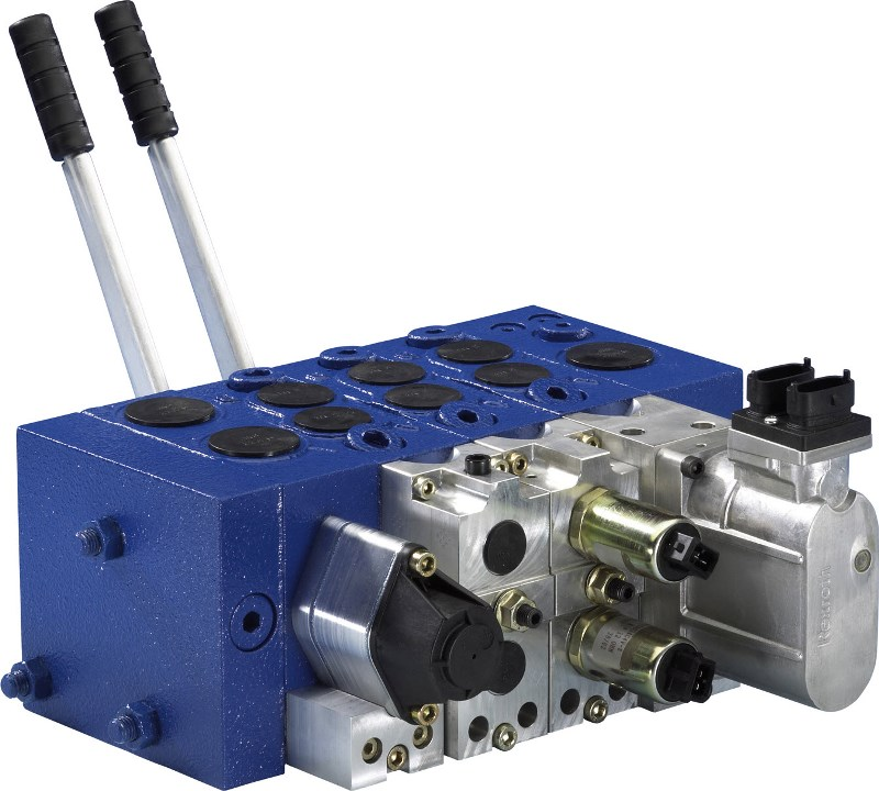 Elementy systemu sterownia – blok hydrauliczny M4-12
