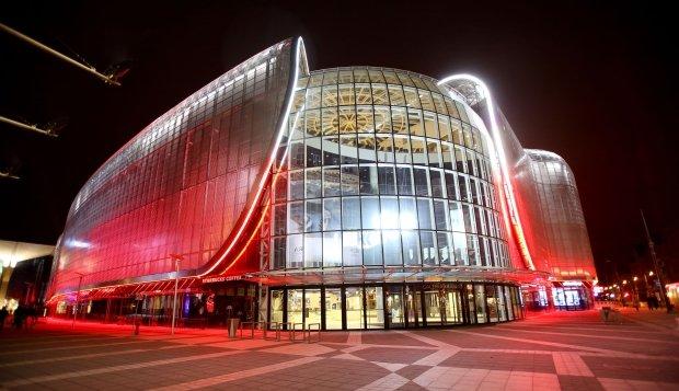Galeria Katowicka iluminacja 11.11.2013