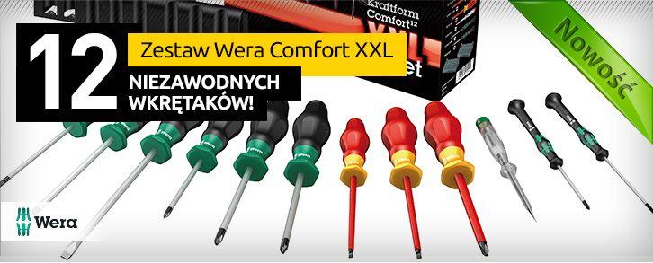 Zestaw Wera Comfort XXL - 12 niezawodnych wkrętaków